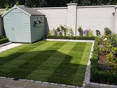 landscaping services dublin - lawn maintenance