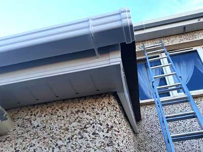 soffits, fascias, gutter construction and cleaning services
