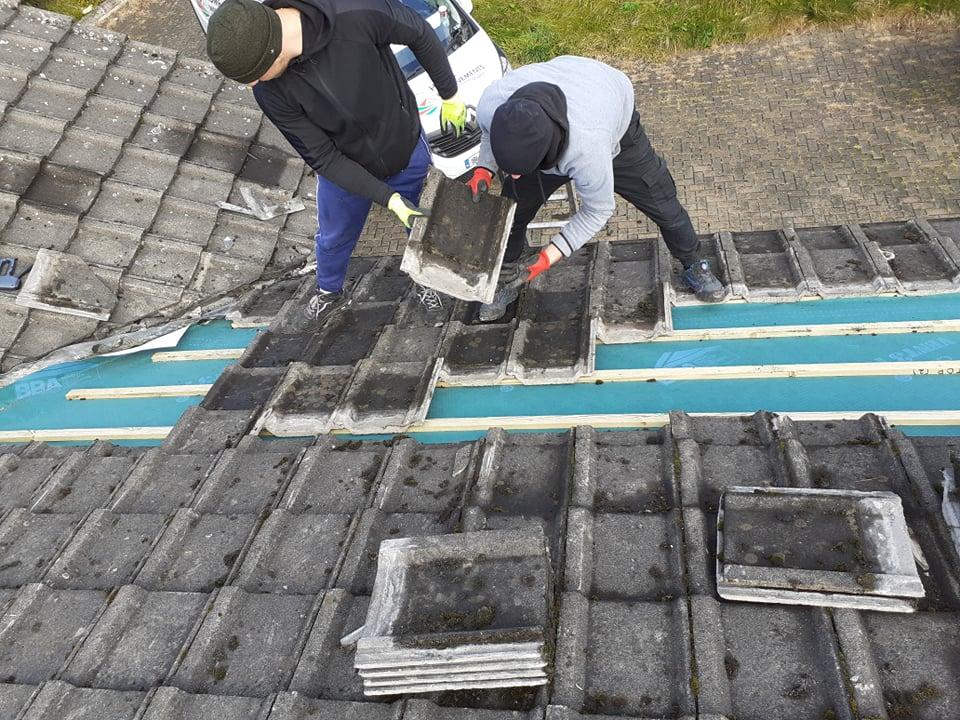 Roofers Dublin - Roofing Contractors Working
